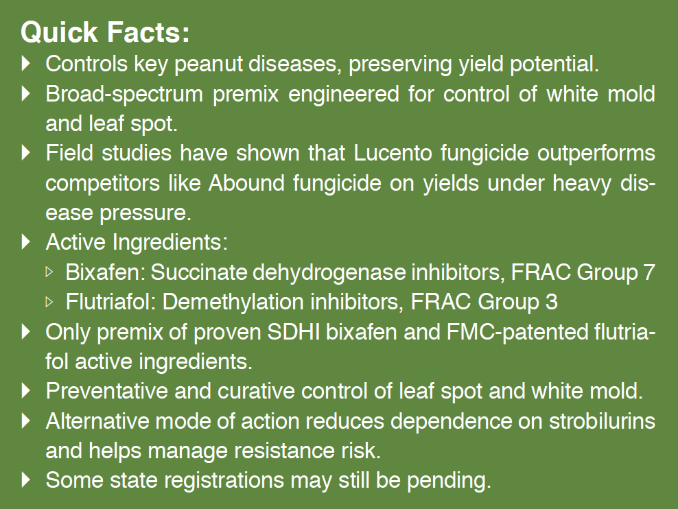 Lucento Fungicide Now Available | Peanut Grower