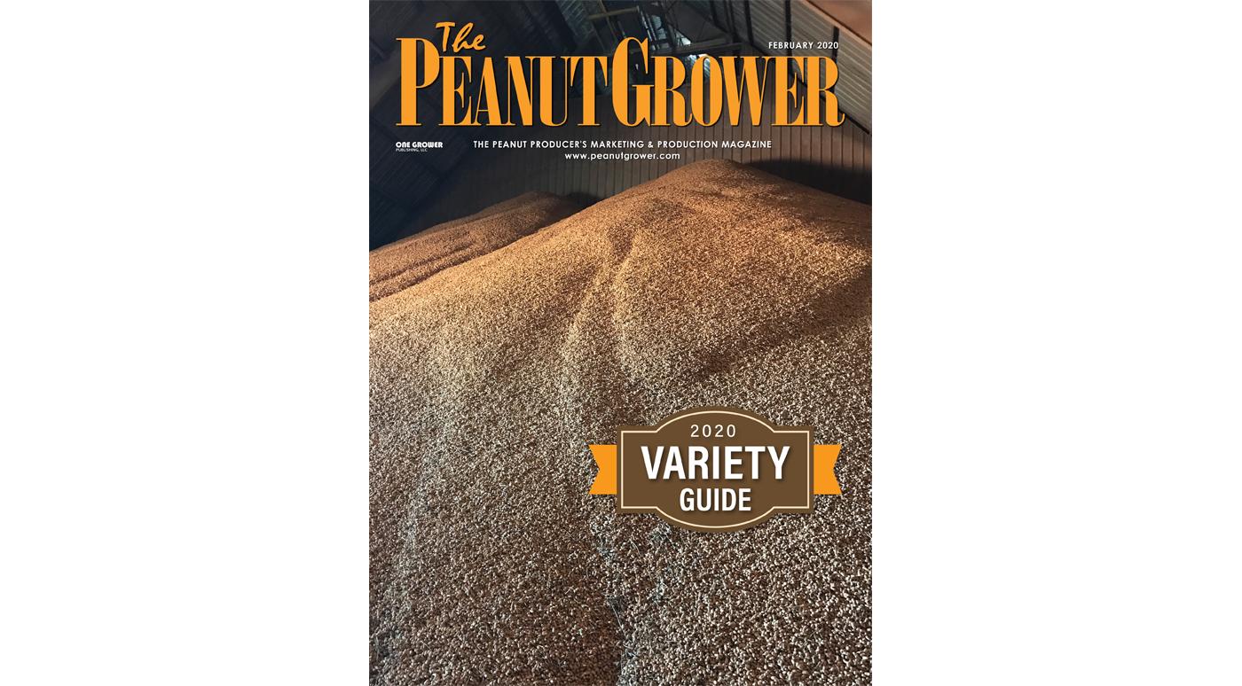January 2020 peanut grower cover