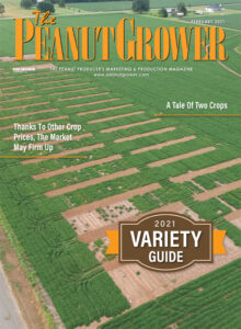 Feb. 2021 peanut grower cover
