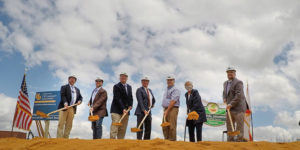Ground breaking ceremony for Coastal Growers